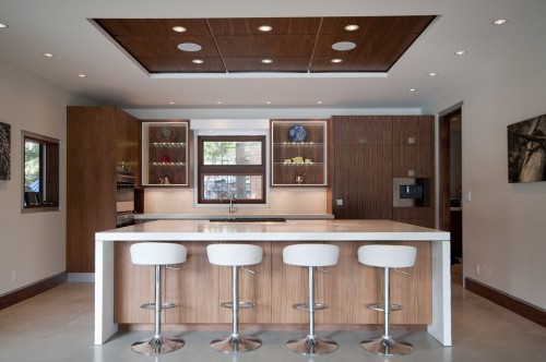 Whistler concrete kitchen features